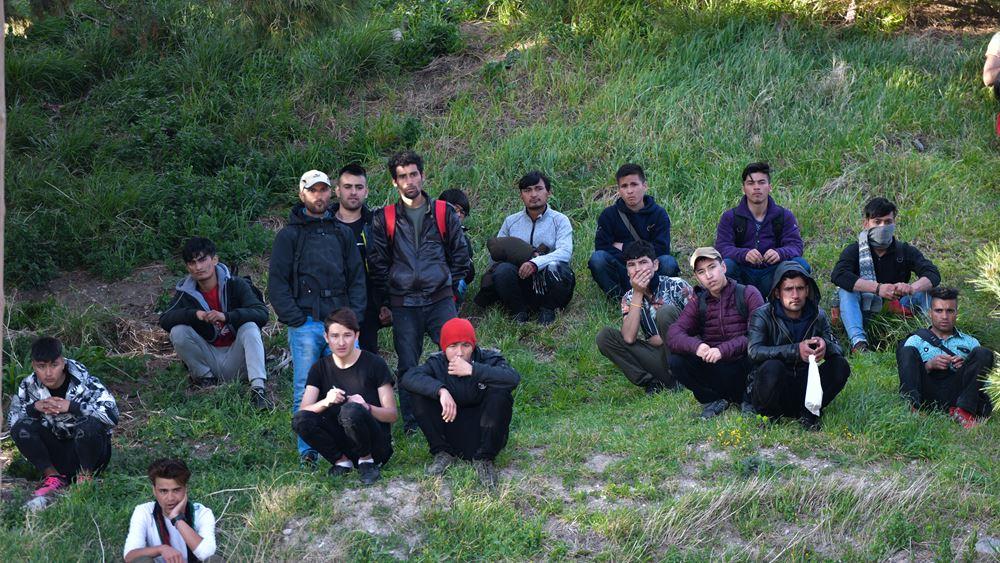 Αναχώρηση 176 προσφύγων και μεταναστών από τη Μυτιλήνη
