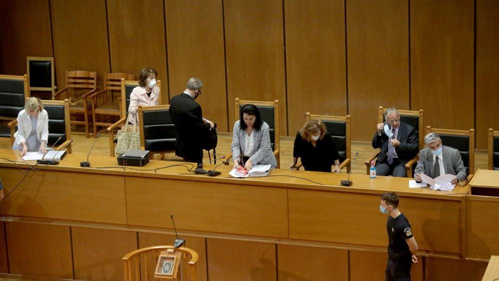 Δίκη Χρυσής Αυγής: Σε αναμονή της απόφασης για τις εκτίσεις ποινών