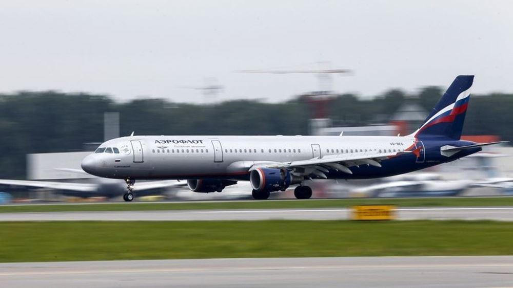 Ρωσία: Αυξάνονται κατά τέσσερις την εβδομάδα οι τακτικές αεροπορικές πτήσεις προς Αθήνα