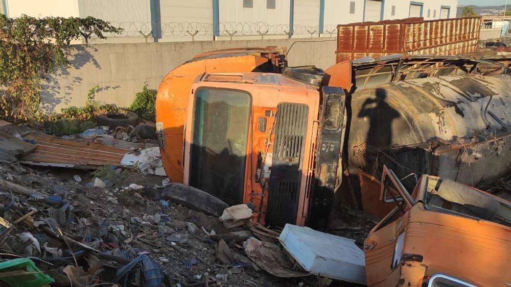 Θεσσαλονίκη: Σύλληψη αλλοδαπών που έκλεβαν δημοτικά οχήματα για να τα τεμαχίσουν