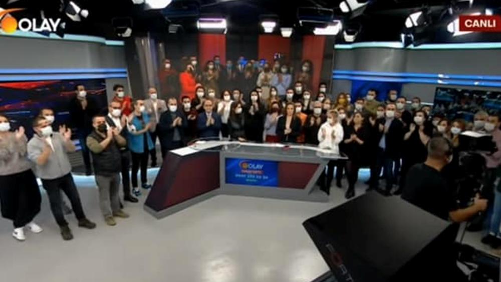 """Τουρκία: Τηλεοπτικό κανάλι έκλεισε μετά από 26 ημέρες στον αέρα - """"Η κυβέρνηση Ερντογάν πίεσε τον ιδιοκτήτη"""", λένε οι δημοσιογράφοι"""