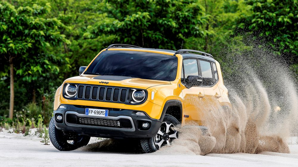 Jeep Renegade & X-Wing Project: Περιπέτεια και αδρεναλίνη στα άκρα