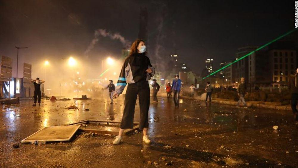 Λίβανος: Συγκρούσεις μεταξύ των δυνάμεων ασφαλείας και διαδηλωτών