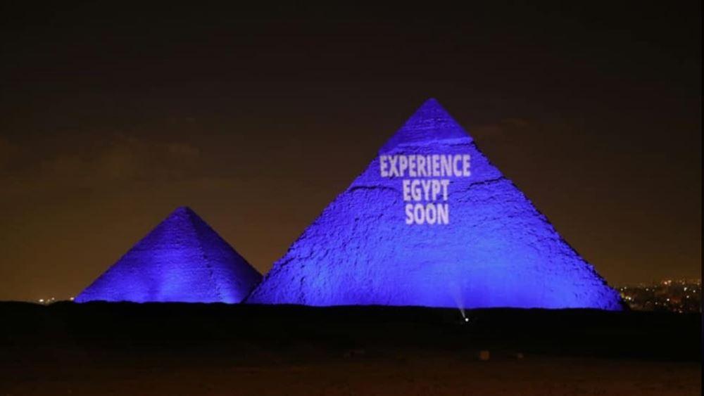 Η Αίγυπτος δεν φώτισε τις πυραμίδες με τα χρώματα της σημαίας του Λιβάνου