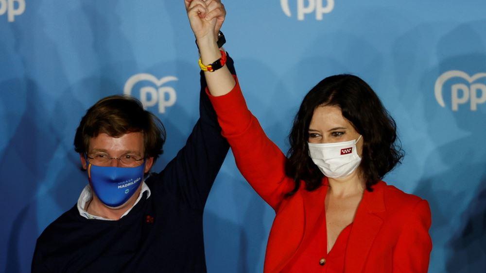 Κέρδισε τις εκλογές της Μαδρίτης η Αγιούσο - Οι έδρες μας στη διάθεσή της, λένε οι ακροδεξιοί