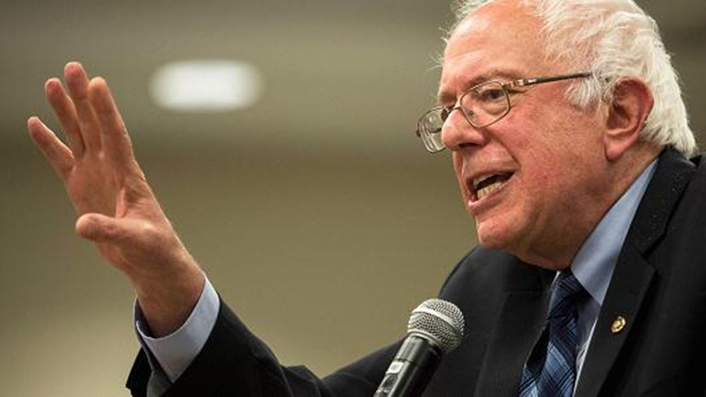 Ο Bernie Sanders δεν δέχτηκε χορηγία 470 δολ. από τη σύζυγο δισεκατομμυριούχου