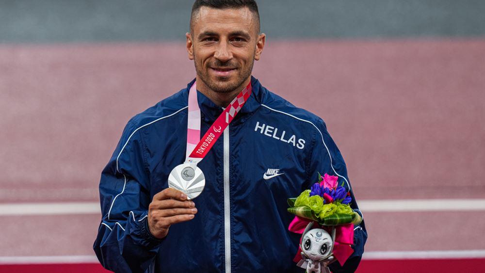 Παραολυμπιακοί Αγώνες: Το αργυρό μετάλλιο στο μήκος κατέκτησε ο Θ. Προδρόμου