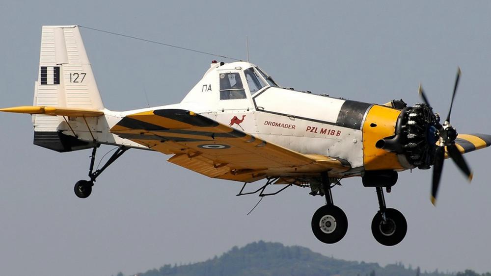 Ζάκυνθος: Πυροσβεστικό  αεροσκάφος, τύπου Πετζεντέλ, κατέπεσε ενώ επιχειρούσε