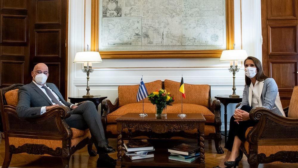 Ν. Δένδιας - Σ. Βίλμες: Ανάγκη διττής προσέγγισης της Τουρκίας από ΕΕ, με αιρεσιμότητα και αναστρεψιμότητα