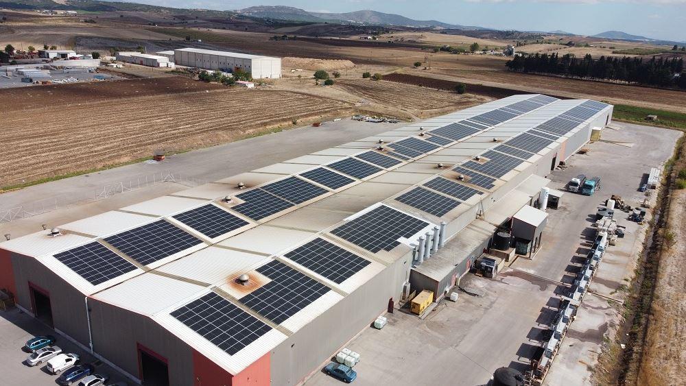 ΑΕΝΑΟΣ: Κατασκευή φωτοβολταϊκού Net Metering 1 MW στην ΚΑΜΑΡΙΔΗΣ GLOBALWIRE