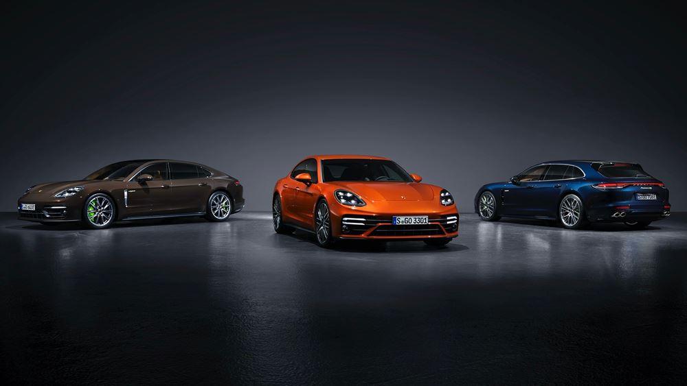 H ανανεωμένη Porsche Panamera αποκαλύπτεται