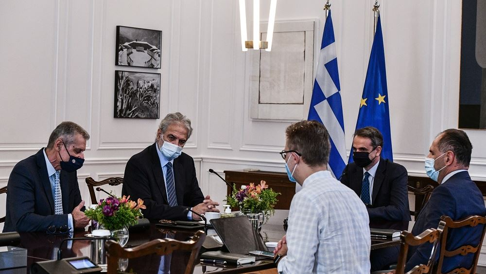 Σύσκεψη Μητσοτάκη με την ηγεσία του υπουργείου Κλιματικής Κρίσης και Πολιτικής Προστασίας