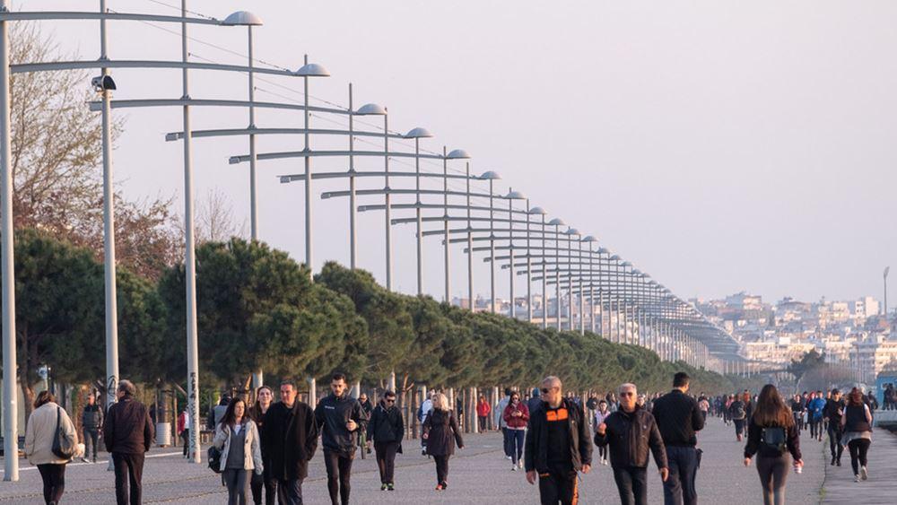 Ανοίγει από το βράδυ η Νέα Παραλία στη Θεσσαλονίκη