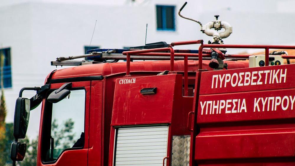 Κύπρος: Πυρκαγιά Σφαλαγκιώτησσα Λεμεσού