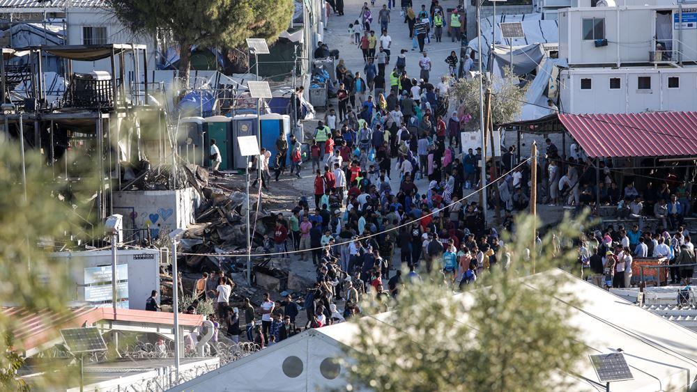 Μυτιλήνη: Μεταφορά 2.000 εμβολίων για τα παιδιά στη Μόρια