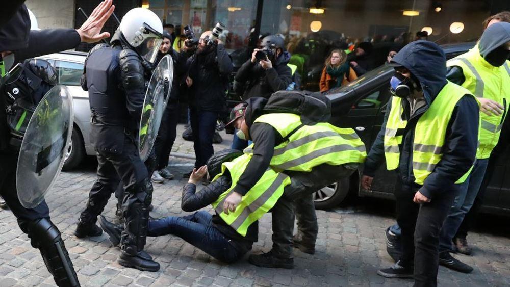 Γαλλία: Οι πρόσφατες διαδηλώσεις έπληξαν την επιχειρηματική εμπιστοσύνη και τις προοπτικές ανάπτυξης