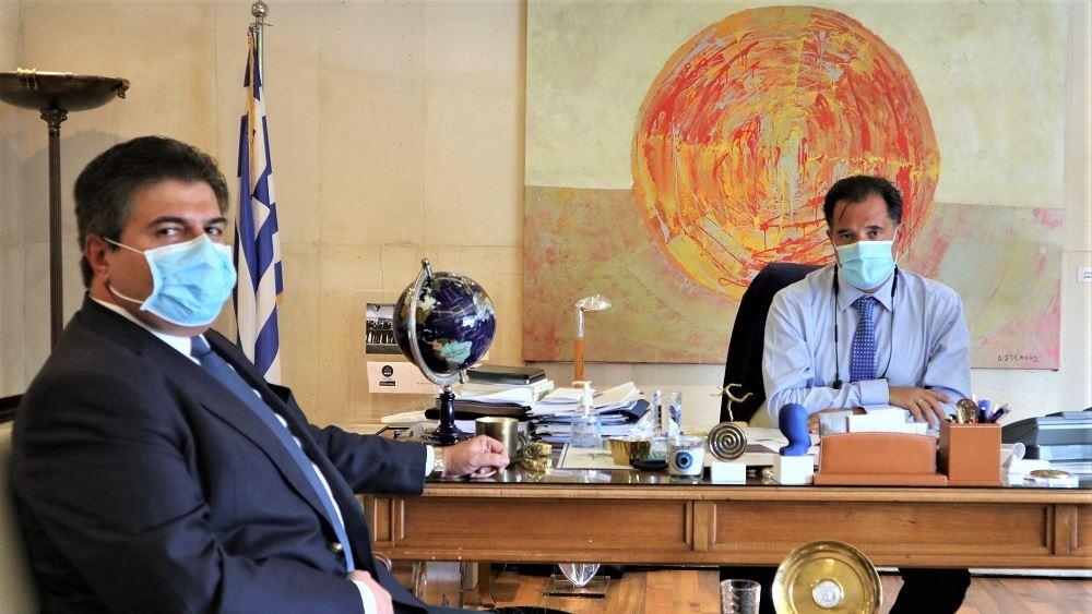 Συναντήσεις Άδ. Γεωργιάδη για τις αναπτυξιακές πολιτικές της αυτοδιοίκησης