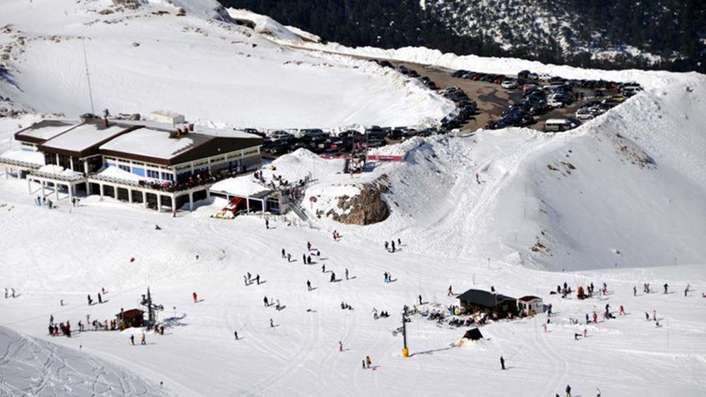 ΕΤΑΔ: Επίσκεψη Στ. Βλαστου στο Χιονοδρομικό Παρνασσού για την πρόοδο των εργασιών αναβάθμισης