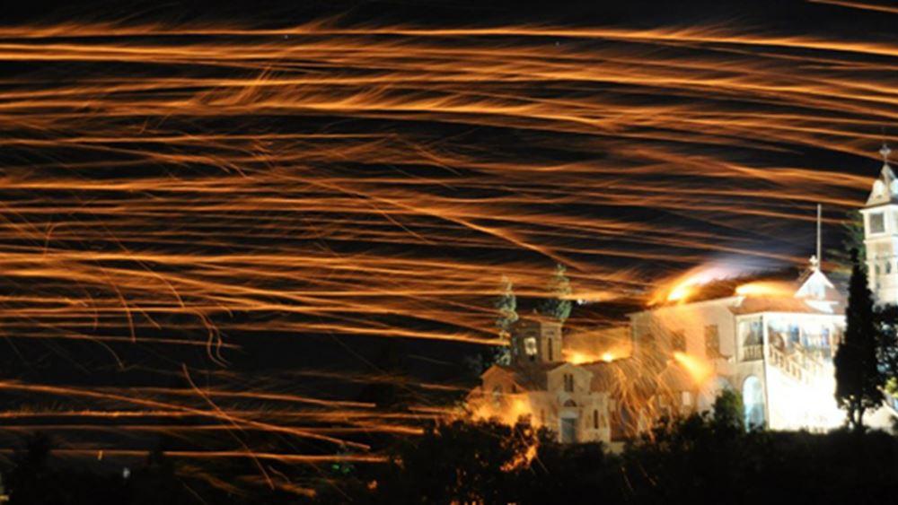 Δεν θα πραγματοποιηθεί το έθιμο του ρουκετοπόλεμου στο Βροντάδο της Χίου