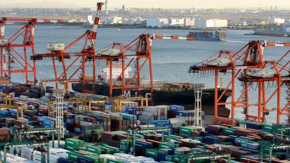 Ιαπωνία: Αυξήθηκαν 16,1% οι εξαγωγές τον Μάρτιο