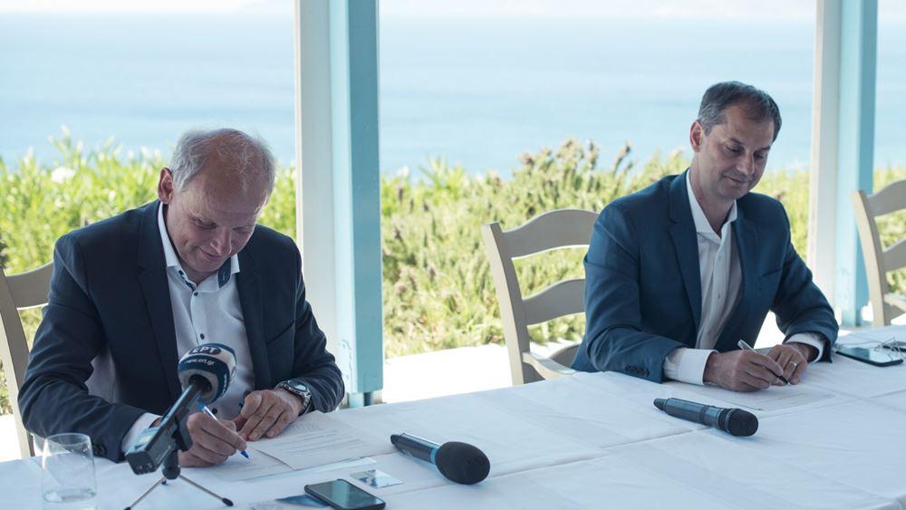 Στρατηγική συμφωνία υπέγραψαν Υπουργείο Τουρισμού και TUI