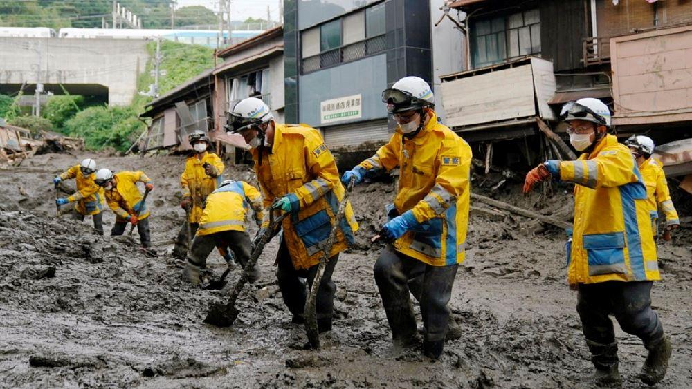 Κατολίσθηση λάσπης στην Ιαπωνία