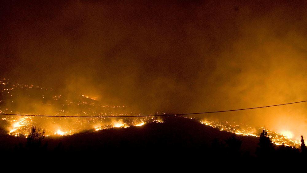 Kύμα πυρκαγιών σε Συρία και Λίβανο: Δύο νεκροί στη Συρία - Βοήθεια ζήτησε ο Λίβανος
