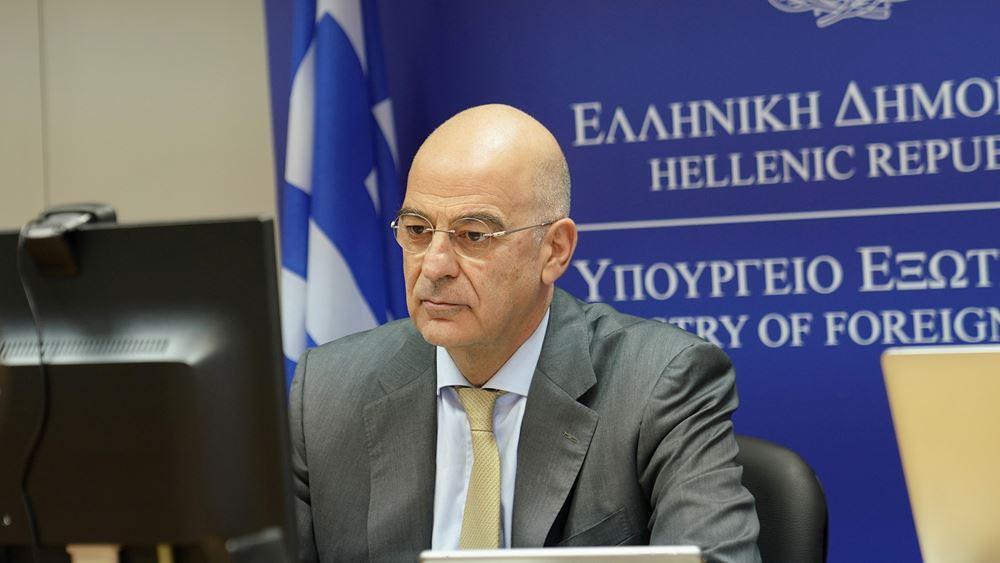 Ν. Δένδιας: Το Barbaros παραβιάζει κατάφωρα την κυπριακή ΑΟΖ