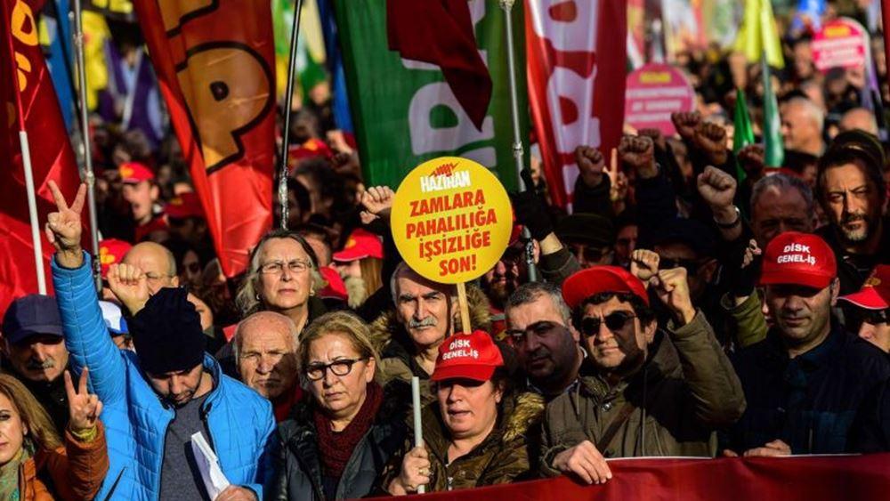 Τουρκία: Αποκλεισμένη η πλατεία Ταξίμ για την Πρωτομαγιά