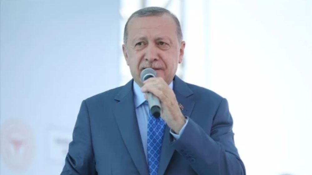 """Ερντογάν: Έρχονται """"όμορφες ειδήσεις"""" για την Κύπρο"""