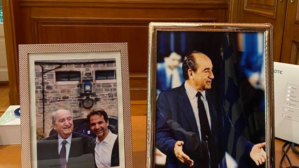 Ανάρτηση του Πρωθυπουργού για τα τρία χρόνια από τον θάνατο του Κωνσταντίνου Μητσοτάκη