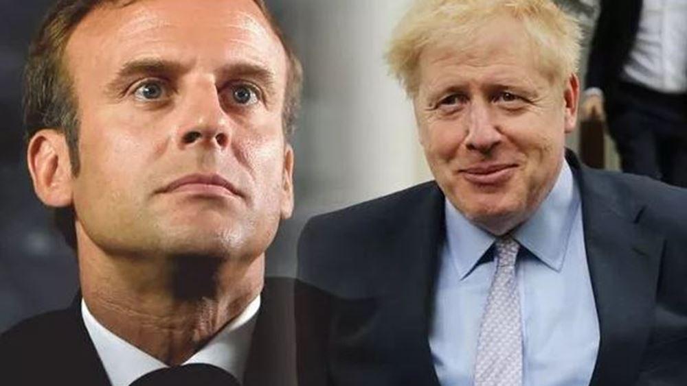 Πιέσεις Μακρόν σε Τζόνσον να ξεκαθαρίσει η Βρετανία τη στάση της