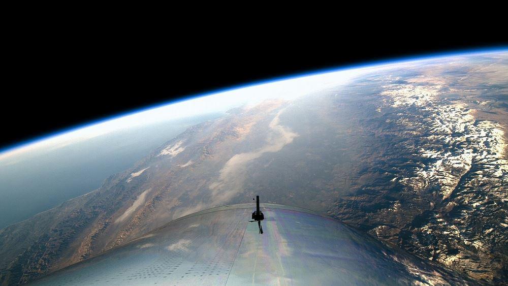 """""""Αλμα"""" για τη Virgin Galactic του Μπράνσον μετά τη συμφωνία με τη NASA για εκπαίδευση αστροναυτών"""