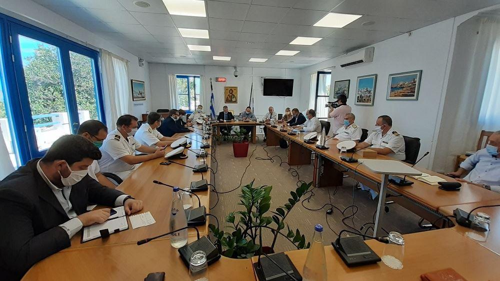 """Γ. Πλακιωτάκης: Δρομολογείται η ανέλκυση του """"Εξπρές Σαμίνα"""""""