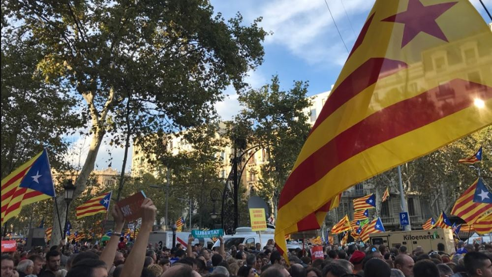Ξεκίνησε η συνεδρίαση του κοινοβουλίου της Καταλονίας