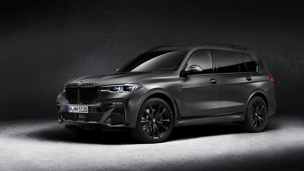 Επιβλητική παρουσία, αποκλειστικά χαρίσματα: Η BMW X7 Dark Shadow Edition