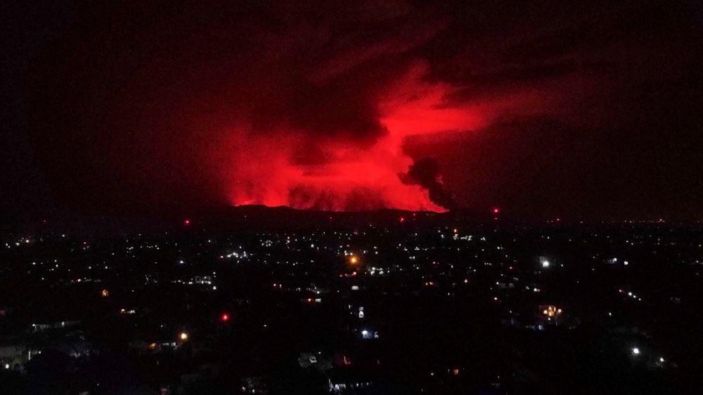Κονγκό: Εξερράγη το ηφαίστειο Νιραγκόνγκο - Δεν απειλείται η πόλη Γκόμα