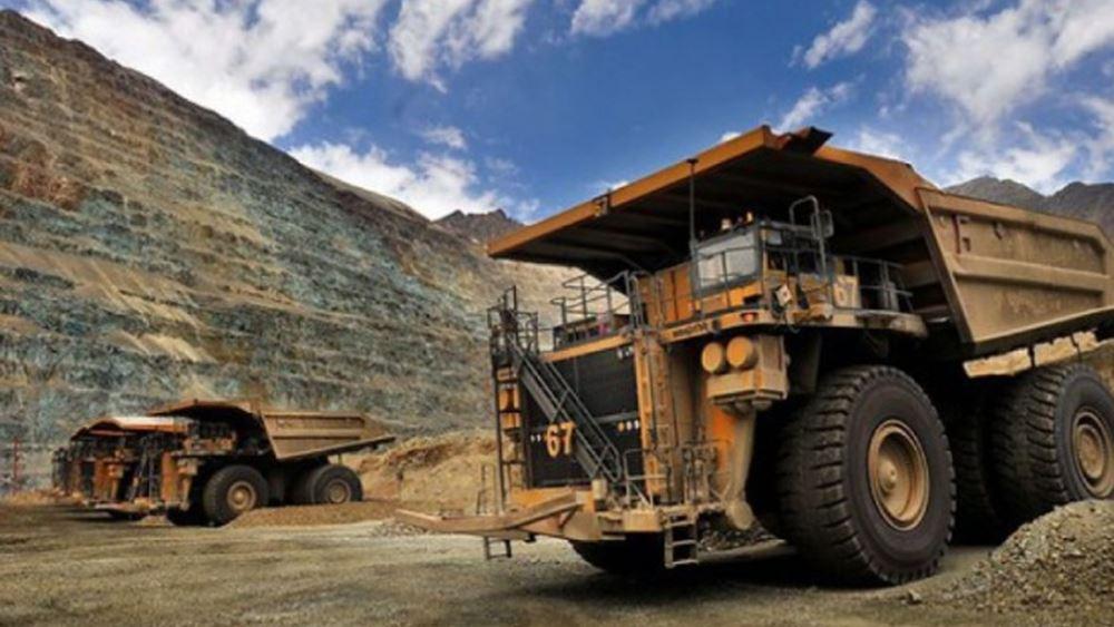 Αυξήθηκε 23% η παραγωγή χαλκού α΄ τριμήνου της Antofagasta PLC