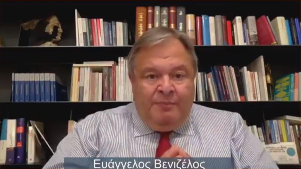 Ευάγγ. Βενιζέλος: Θετικό βήμα η επανεκκίνηση των διερευνητικών επαφών Ελλάδας-Τουρκίας