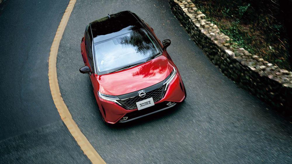 Η Nissan λανσάρει το Note Aura στην Ιαπωνία