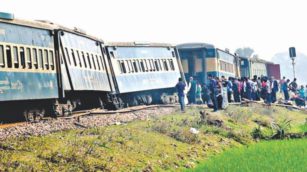 Μπανγκλαντές: Τουλάχιστον 16 νεκροί, σχεδόν 60 τραυματίες στη μετωπική σύγκρουση επιβατικών τρένων