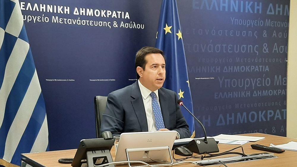 """Μηταράκης: """"Η Ελλάδα δεν θα επιτρέψει να είναι η πύλη της Ευρώπης για δίκτυα λαθρεμπορίου"""""""