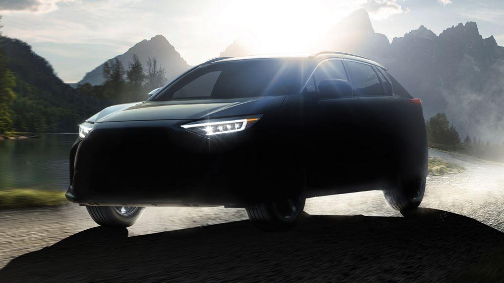 Solterra, το νέο ηλεκτρικό SUV της Subaru