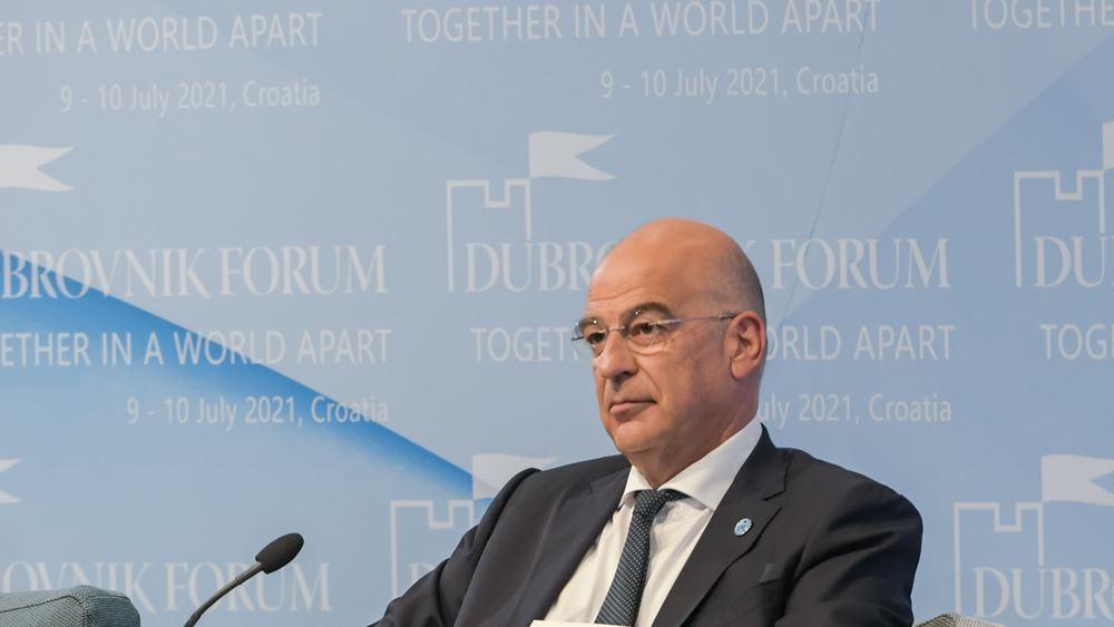Συνάντηση Ν. Δένδια με τον πρέσβη της Βουλγαρίας