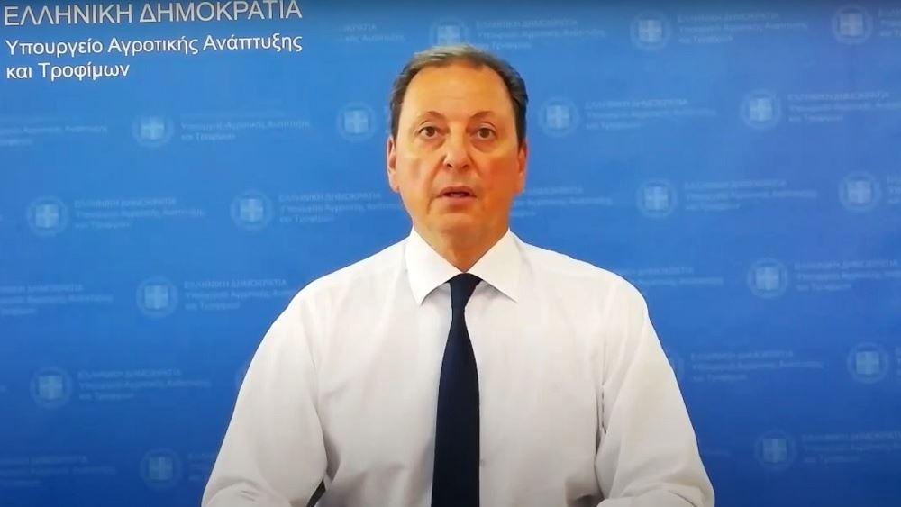 Σπ. Λιβανός: Αποζημιώνονται άμεσα οι πληγέντες από τις πυρκαγιές παραγωγοί