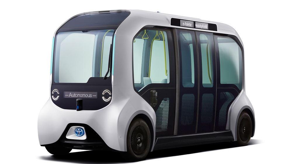 Η Toyota εξελίσσει το αυτόνομο λεωφορείο e-Palette