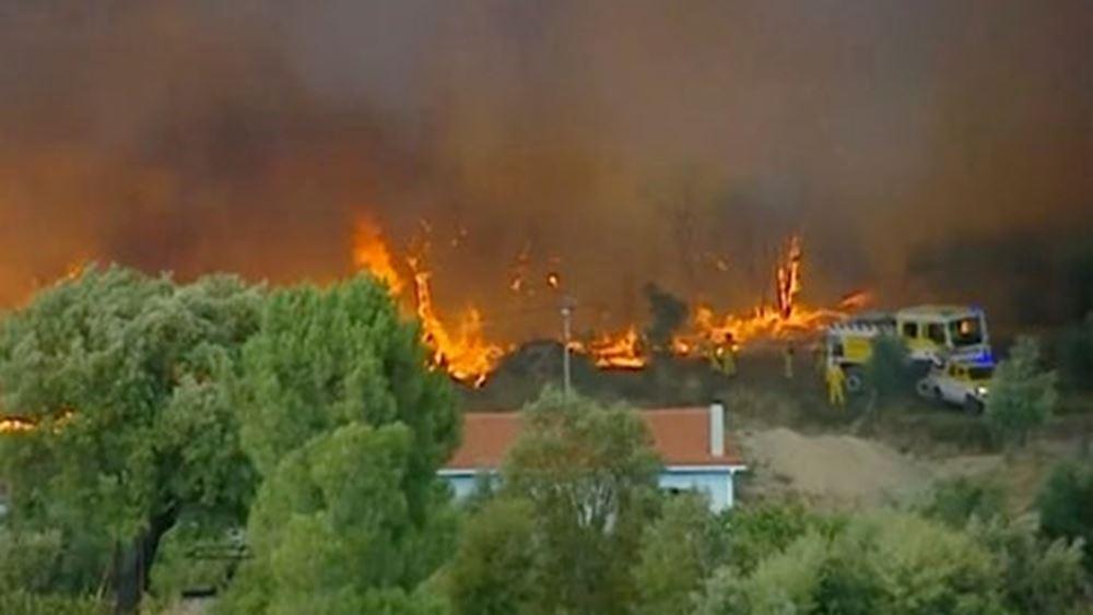 Πορτογαλία: Είκοσι τραυματίες από τις μεγάλες πυρκαγιές
