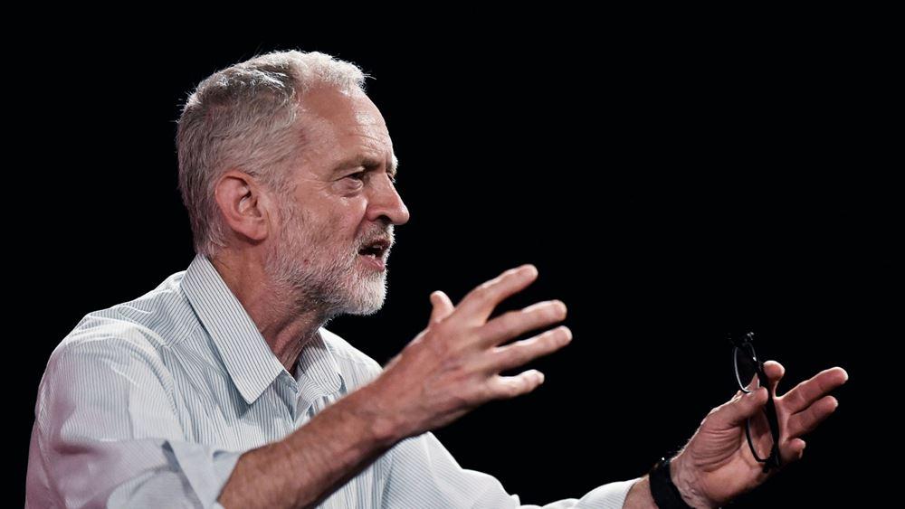 """Βρετανία: Ο Κόρμπιν ζητεί έρευνα μετά το δημοσίευμα ότι είναι """"πολύ αδύναμος"""" για να γίνει πρωθυπουργός"""