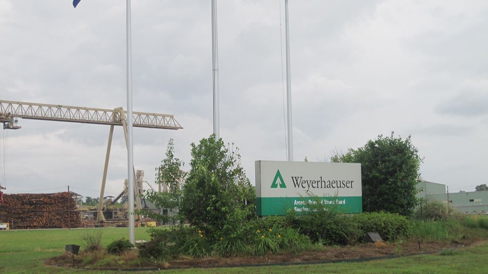 Weyerhaeuser: Χαμηλότερα των εκτιμήσεων κέρδη και πωλήσεις