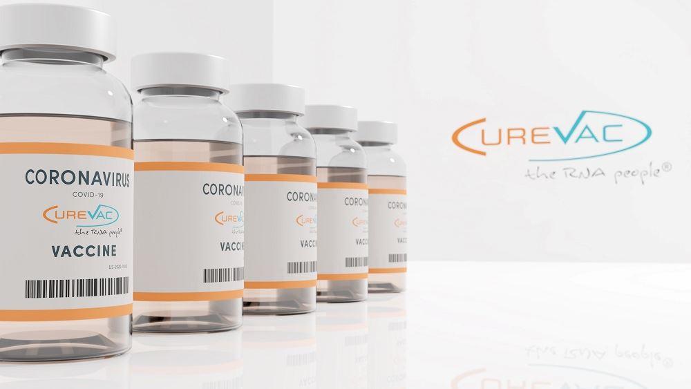 CureVac εμβολιο κορονοιος